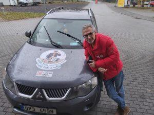 Tomáš Bursa vyráží na cestu