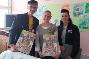 Předávání kalendářů v Brně s Bikers Help a Biker Cats